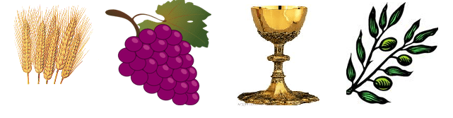 Symbols For Holy Eucharist http://youthministry.holyfamily.org/671/symbols-of-our-faith/