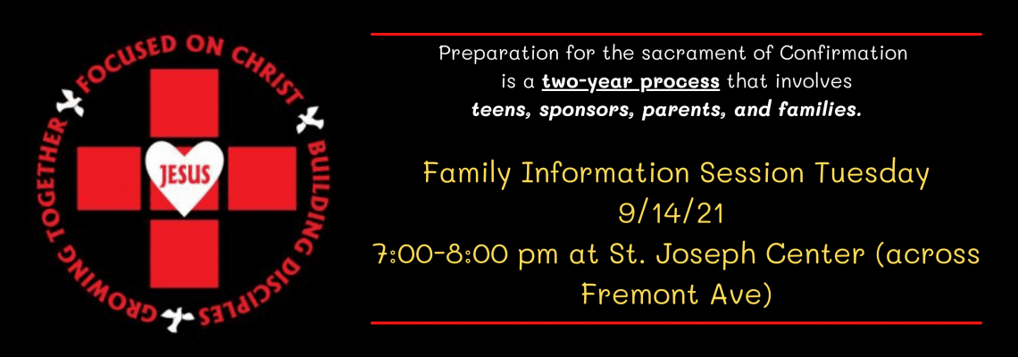 Family Info Confirmation 91421 banner Better